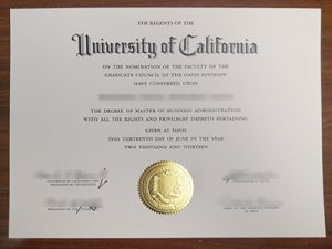 University of California degree