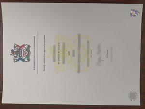 University of Gloucestershire degree