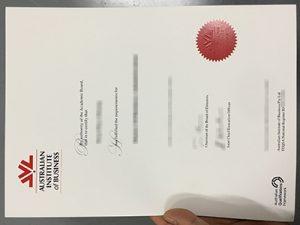 Australian Institute of Business degree