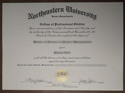 Northeastern University Boston Massachusetts degree