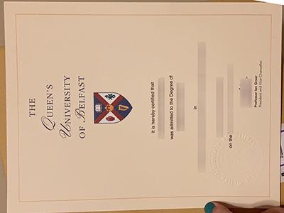 Queen's University of Belfast degree