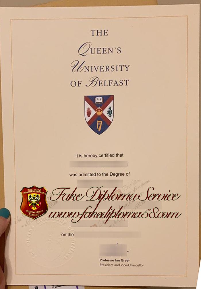 Queen's University of Belfast degree1