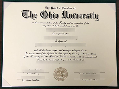 Purchase a fake The Ohio University degree quickly online