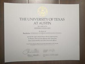 the University of Texas at Austin degree