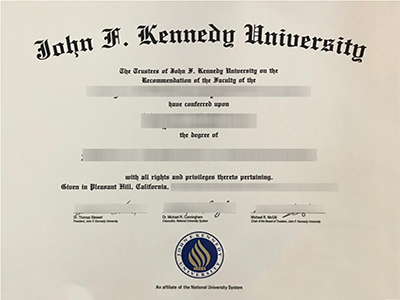 How can i buy a fake John F.Kennedy University degree in USA?
