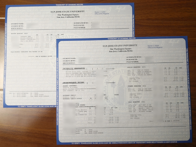 What is the best website to buy a fake San Jose State University transcript?