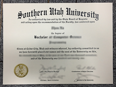 How to purchase a fake Southern Utah University degree of the latest version?