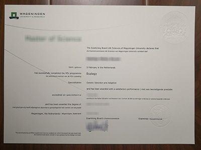 Can i purchase a fake Wageningen university degree online?