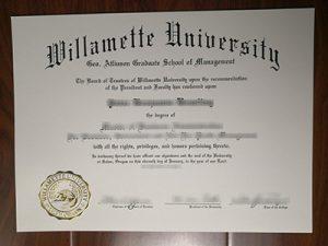 Willamette University degree