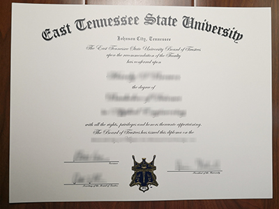 Purchase a fake East Tennessee State University degree,the latest version.